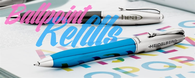 Freerefill.com Ballpoint Pen Refills